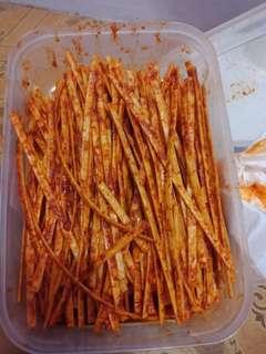 Macaroni mercon per kotak rasa enak ya guys