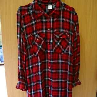 shirt dress kemeja h&m