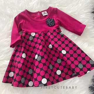 Baby girl kurung dress raya budak