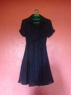 👗button dress
