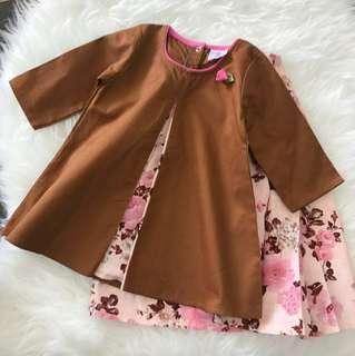 Baju Kurung raya budak