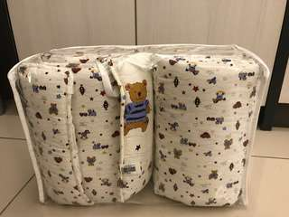 Bumble Bee: 2pc Cot Bumper