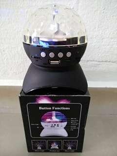 L-740 Bluetooth Speaker with Disco Light
