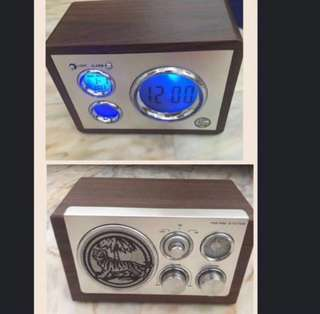 Tiger Beer Dynamic Digiclock & Vintage Radio Father's Day Promo