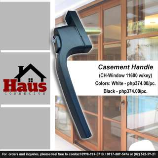 Casement Handle w/ Key