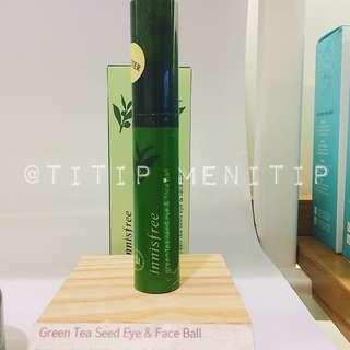 Innisfree Green Tea Seed Eye & Face Ball