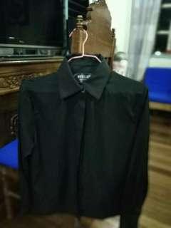 Black formal longsleeves