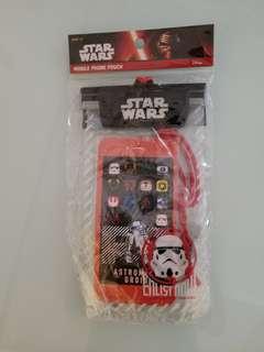 *全新* Star War 星球大戰 防水電話套