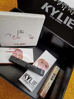 Kylie Cosmetics Lip Kits, Gloss, Velvet & Wet Set Highlight