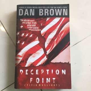 Dan Brown Deception Point (Indonesia)