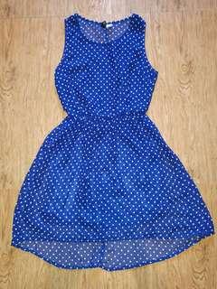H&M dress folkadots Small