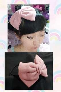 粉紅色髮箍