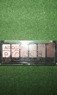 Absolute rose eyeshadow pallete