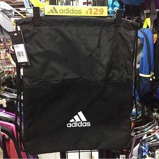 有門市~ADIDAS 3-STRIPES GYM BAG 索繩背袋/運動拉繩袋 索繩袋 #CF3286