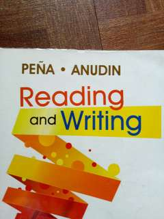 Reading and writing textbook