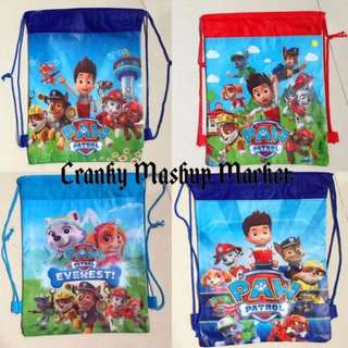 🚚 PAW Patrol Kid's Drawstring Bag (CMM-KDB)