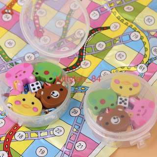 Goodie Bag Items / Snake And Ladder Erasers Set