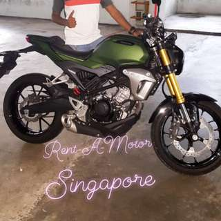 Motorcycle Rent / Lease Singapore