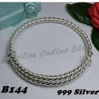 Genuine SILVER 999 Bracelet