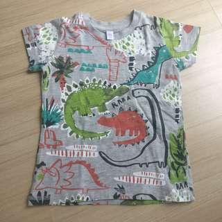 Boy dinasour print T shirt