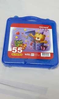 Monami 55 Oil Pastels (Non Toxic)