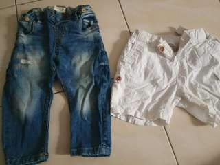 Combo Short Pants for 9months to 12months