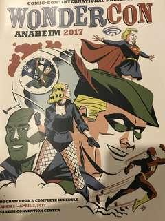 WonderCon Anaheim 2017 Program