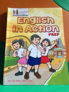 English Book for Prep