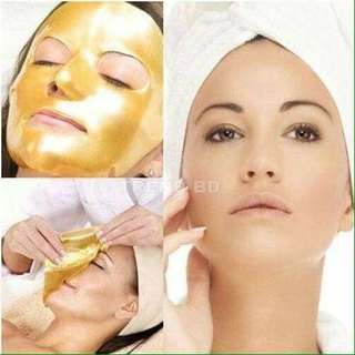 Gold 24k face mask
