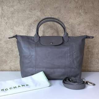 LongChamp 1515737274 LE PLIAGE CUIR TOP HANDLE BAG