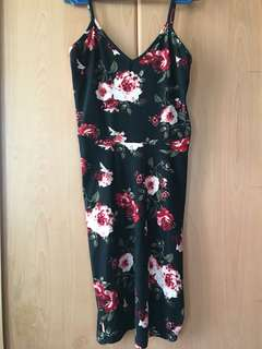 Fitted Floral Dress