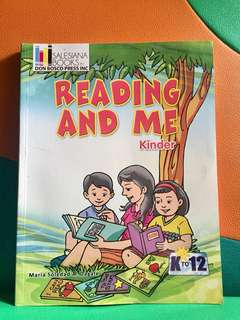 Reading Book for Kinder