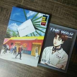 Exo The War album ( Ver A )