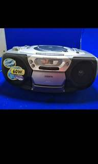 Philips CD Radio Cassette Recorder