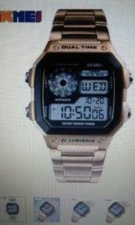 SKMEI Men's Digital watch waterproof