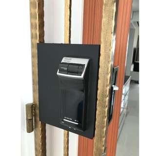 Installation Services for Gateman/Samsung Digital Lock on Metal Gate at $180 (Call 87828818)