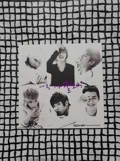 TEEN TOP Be Ma Girl Summer Special Album