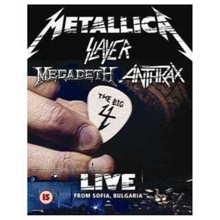 Metallica The Big Four Super Deluxe Edition Sealed 2 DVD + 5 SHMCD out of print Heavy Metal , Slayer, Megadeth, Anthrax