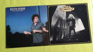 KIM CARNES ● KEITH SYKES . voyeur / it don't hurt to flirt. ( buy 1 get 1 free )  vinyl record