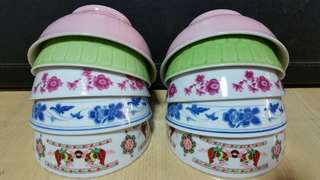 Lovely Vintage Porcelain Rice Bowl x 10pcs