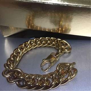 Gelang Rantai / Monster Cuba Chain - GOLD.INC