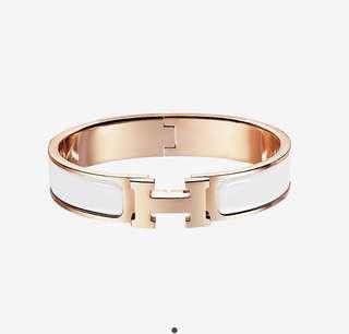 ❗️NEW ❗️Authentic HERMES CLIC CLAC H Bracelet
