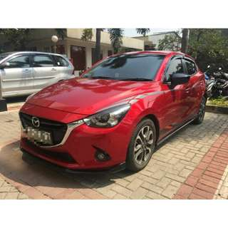 Mazda 2 R limited edition 2015 mulus red nego aja