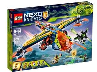 Lego nexo knights 72005 berserker bomber 2018 369pcs