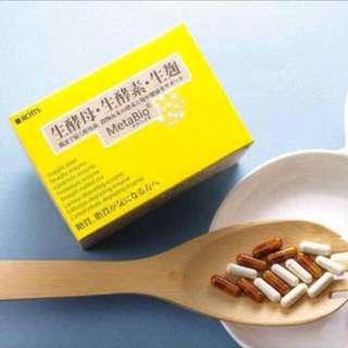 日本MetaBio 激瘦❤生酵母+生酵素❤