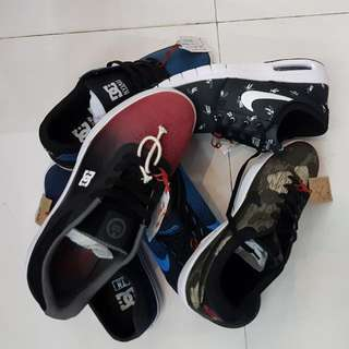 Assorted DC And NIKE Shoes On Sale