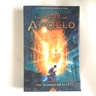 Trials of Apollo by Rick Riordan