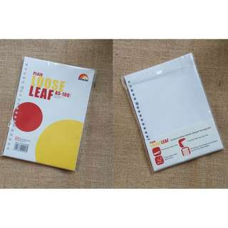 FREE plain loose leaf paperline