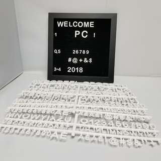2x Slot Message Board 留言板