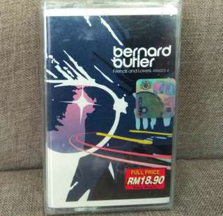 arthcs BERNARD BUTLER (ex SUEDE) Friends And Lovers Cassette Tape (Brand New Sealed)